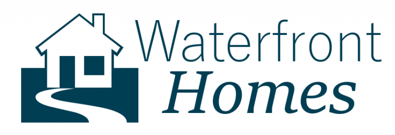 Waterfront Homes and condos Logo