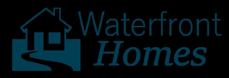 Waterfront Homes and condos Logo